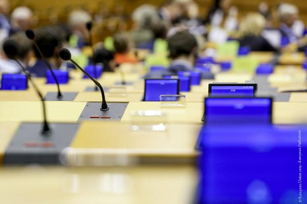 MEPs in meeting