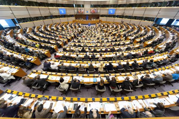 European Parliament Hemicycle Brussels