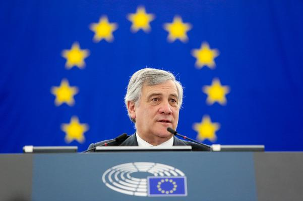 President of the European Parliament Antonio Tajani
