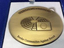 European Citizens Prize medal Border Communities Against Brexit