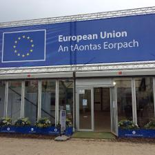 EU Stand at the Ploughing
