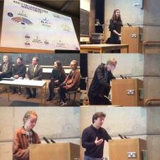 picture of student debate Sakharov Prize at Trinity College Dublin