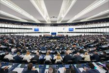 Interior of Hemicycle from its back.