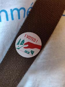 image of an 'I Voted!' sticker