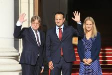 Guy Verhofstadt and Taoiseach Leo Varadkar