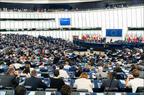 Strasburgo: il Parlamento europeo riunito in Plenaria. CC-BY-4.0: © European Union 2019 – Source: EP.