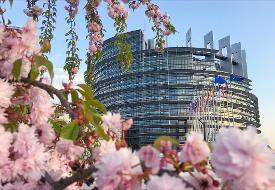 Strsburgo, Parlamento europeo: edificio Louise Weiss.  © European Union 2017 - European Parliament