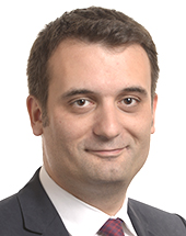 headshot of Florian PHILIPPOT