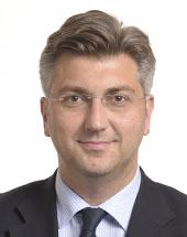 headshot of Andrej PLENKOVIĆ