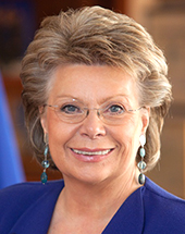 headshot of Viviane REDING