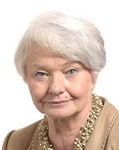 headshot of Krystyna ŁYBACKA
