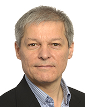 headshot of Dacian CIOLOȘ