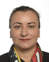 headshot of Atidzhe ALIEVA-VELI