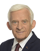 headshot of Professor Jerzy BUZEK