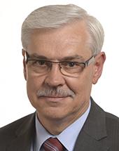 headshot of Zigmantas BALČYTIS