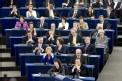 La nouvelle Commission européenne débat avec les députés européens, peu avant son investiture.