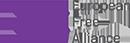 Logo of European Free Alliance party