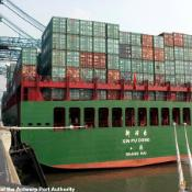Antwerp, Belgium: First port of call for many goods entering the EU