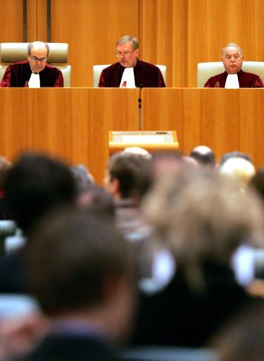 The European Court of Justice hear a case. ©BELGA/AFP/Jean-Christophe Verhaegen