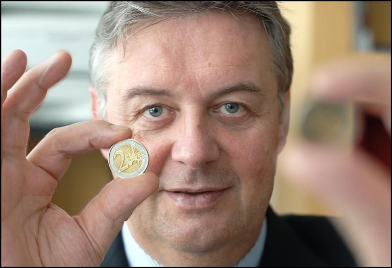 Increasingly Euro coins are being substituted for tokens and medals