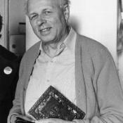 Russian physicist Andrei Sakharov (1921-89) pictured in 1979, the year he criticised Soviet involvement in Afghanistan  ©Belga