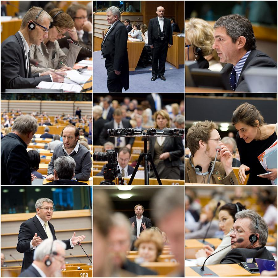 The Parliamentary session opens in Brussels