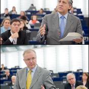 Debatt i plenum, för rådet: Diego López Garrido och kommissionär Olli Rehn