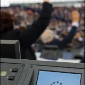 Omröstning i Europaparlamentet