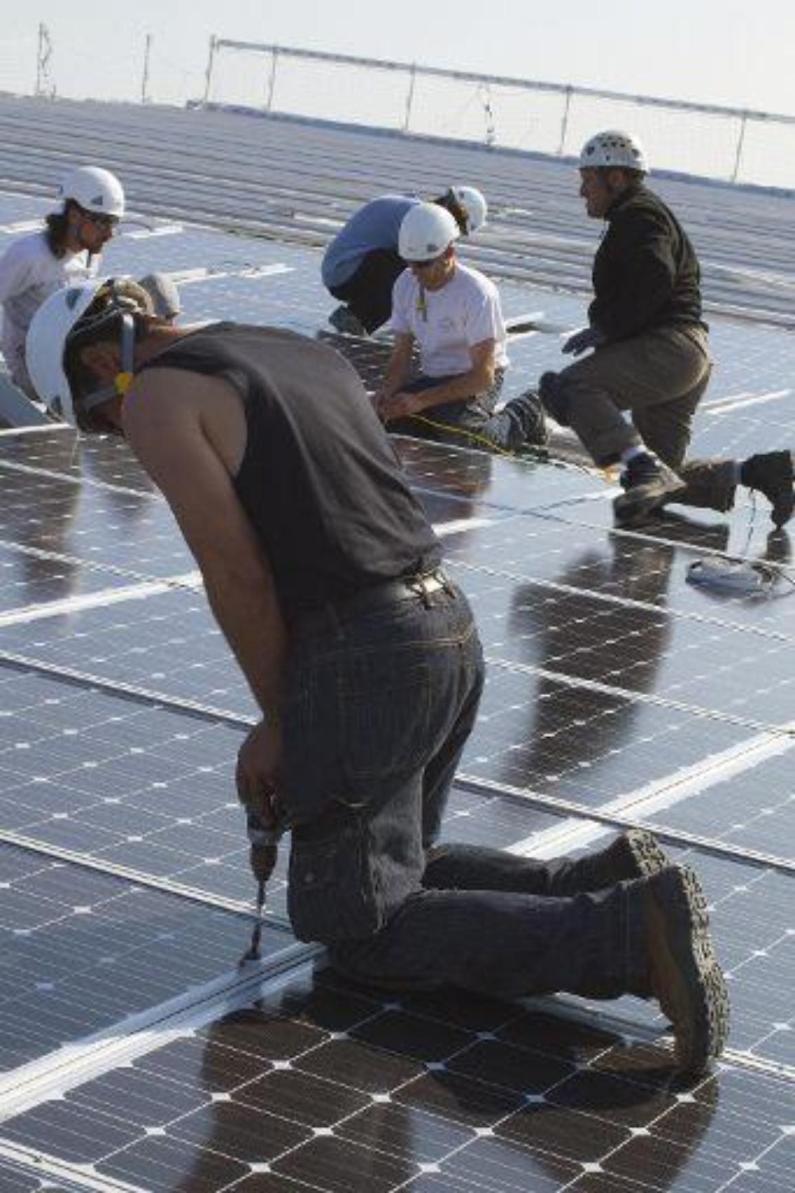 """2020-ra 3 millió """"zöldgalléros"""" munkahely létrehozását tűzte célul az EU. ©BELGA_Jacques Loic_Photononstop"""