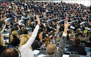 Intro: MEPs are voting a resolution in Strasbourg EP Chamber