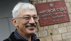 Oleg Orlov, Moscovo, 13 de Setembro de 2010 ©BELGA_Photo ITAR-TASS_Stanislav Krasilnikov