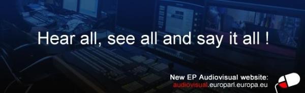 Audiovisual banner
