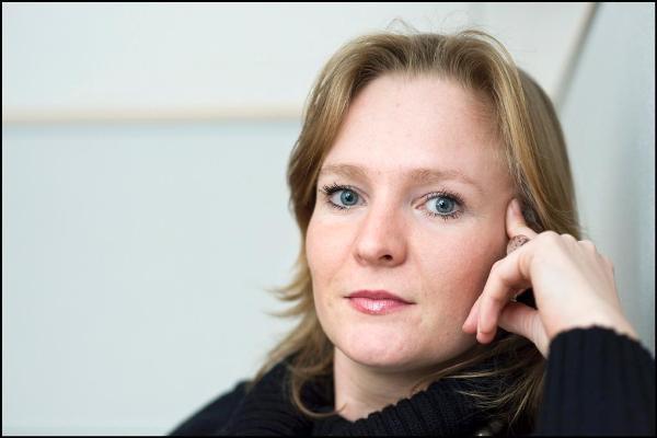Dutch Liberal Member Marietje Schaake in her office in Brussels