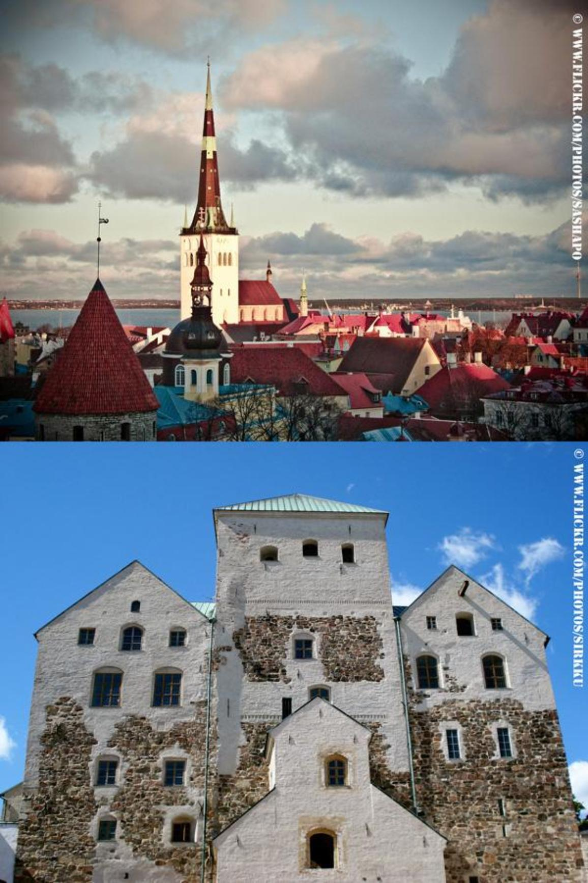 Tallinn and Turku are the two European Capital of Culture for 2011. ©www.flickr.com/photos/sashapo AND .../sirkku