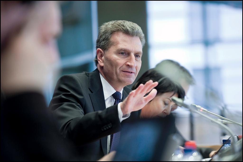 Commissioner Günther Oettinger