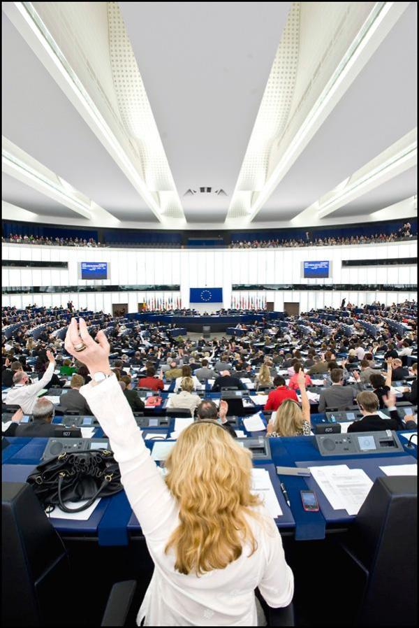 Votación en el PE