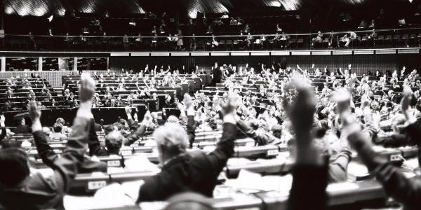 Abstimmung über den EU-Haushalt am 13.12.1979