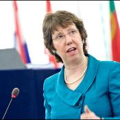 Catherine Ashton in the plenary