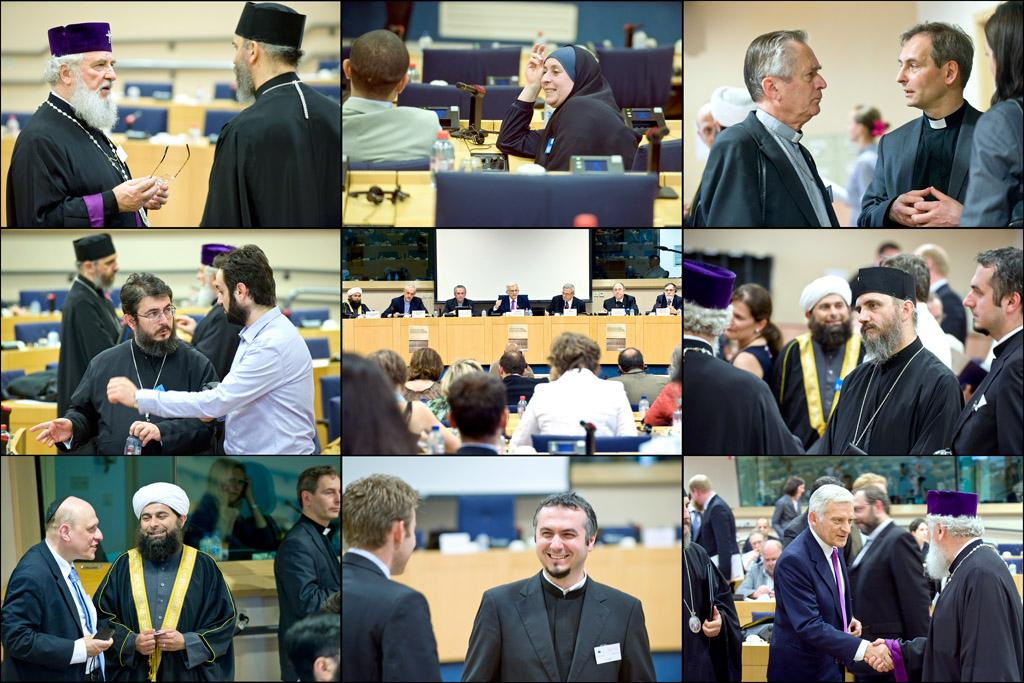 Religious leaders discuss democracy, liberty with EP President Jerzy Buzek