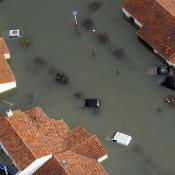 Frankrike sökte EU-stöd för följderna av ovädret Xynthia som krävde 47 människoliv.  ©BELGA/MaxPPP