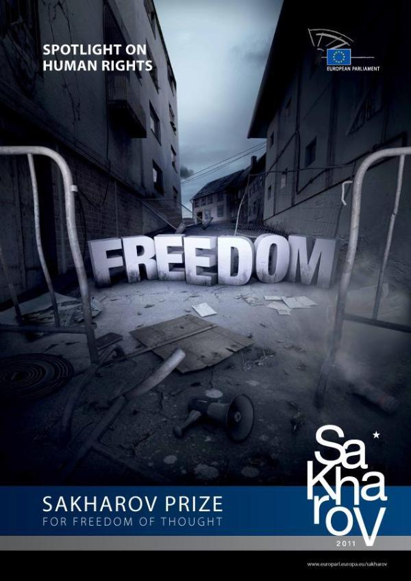 Poster for 2011 Sakharov Prize