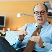 Paolo De Castro lors de notre interview, le 9 novembre 2011.