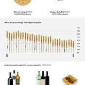 Infographie sur la politique agricole commune