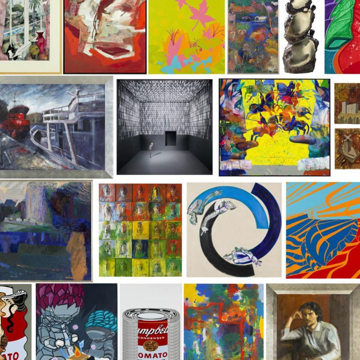 Jasmina Cibic, Andrej Jemec, Drago Tršar, Arjan Pregl, Lojze Logar in Gašper Jemec so tisti slovenski umetniki, katerih dela si lahko ogledate v spletni galeriji