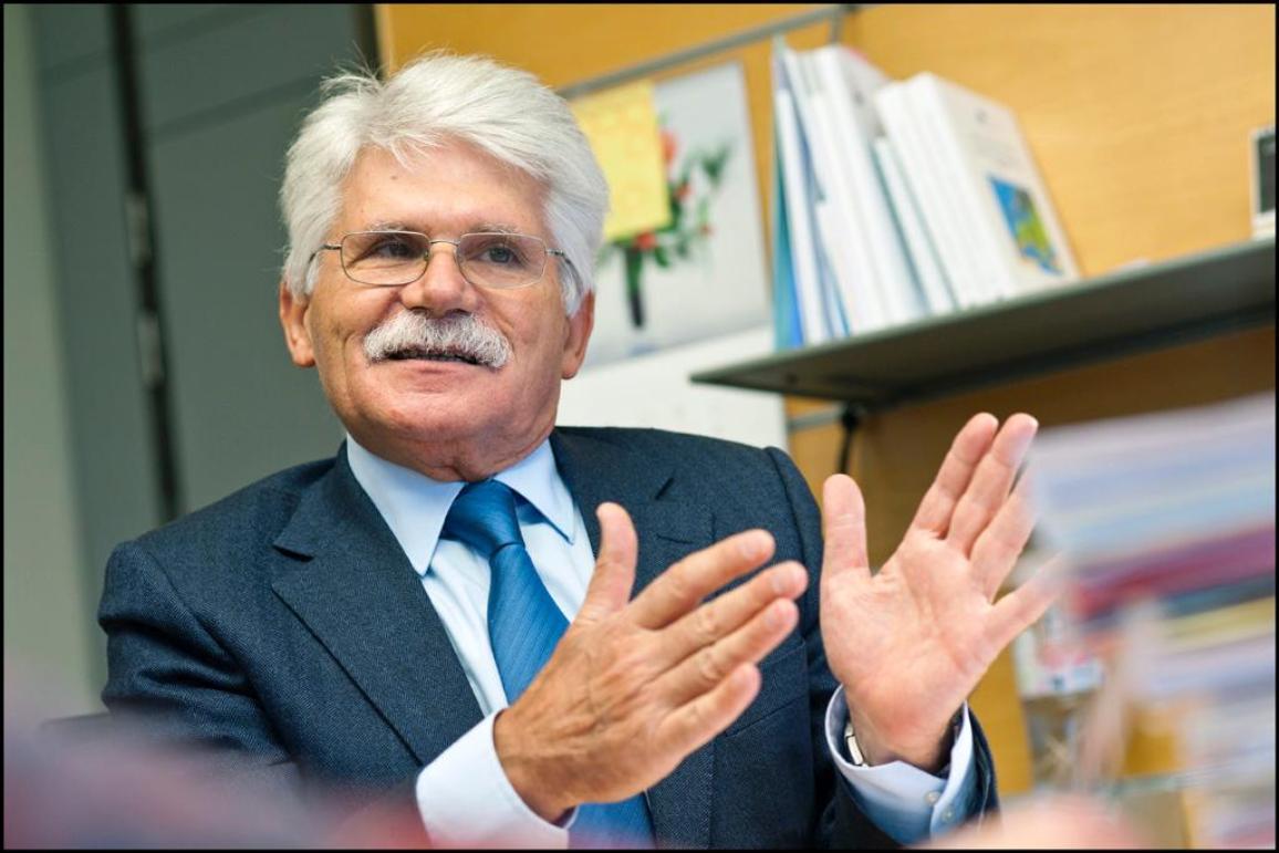 Vital Moreira lors de notre interview, lundi 30 janvier 2012.