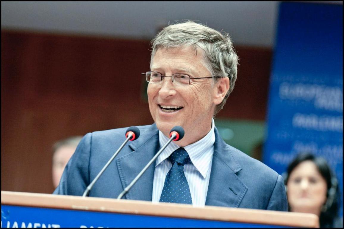Bill Gates, co-président de la Fondation Bill et Melinda Gates qui soutient les programmes de santé et de développement à travers le monde