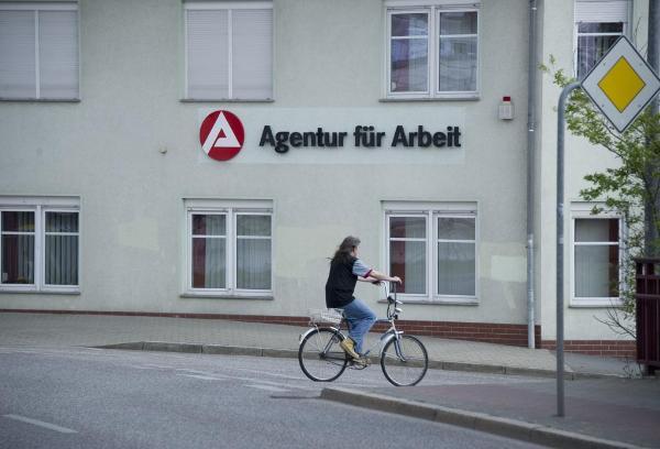 Une agence pour l'emploi en Allemagne ©Belga/AFP