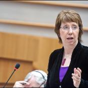 Catherine Ashton in plenary
