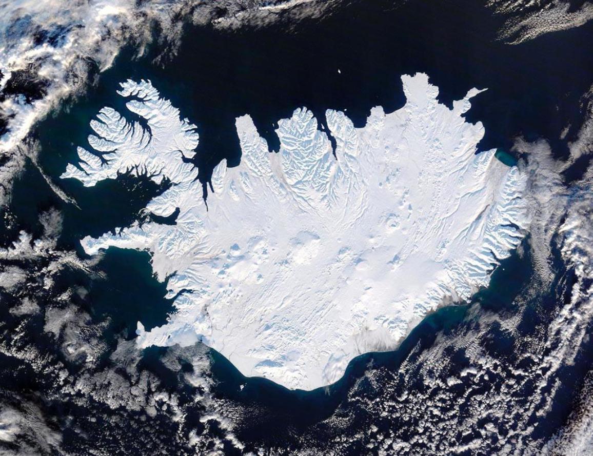 L'Islande, un pays loin de vous faire ni chaud ni froid. ©BELGA/NASA