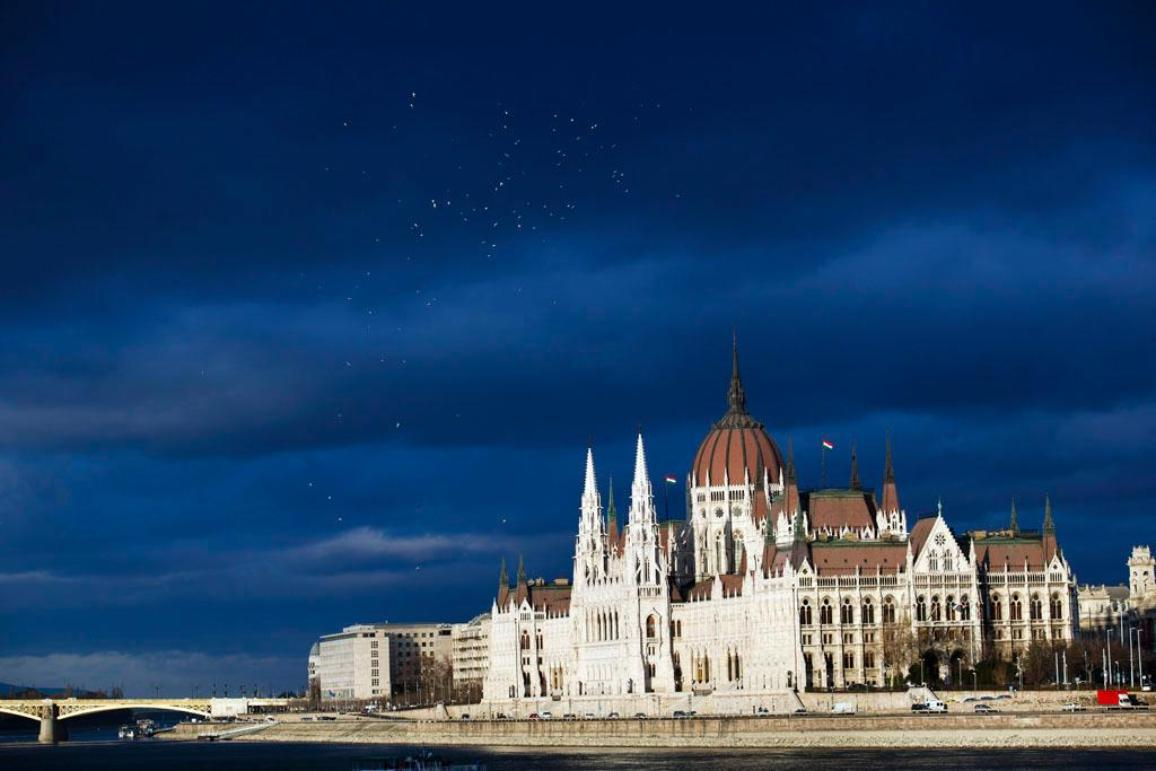 The Parliament building in Budapest, Hungary ©BELGA/MTI/Balazs Mohai
